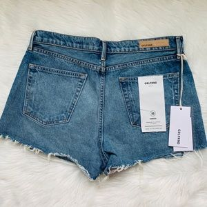 GRLFRND Shorts - GRLFRND mardee denim shorts